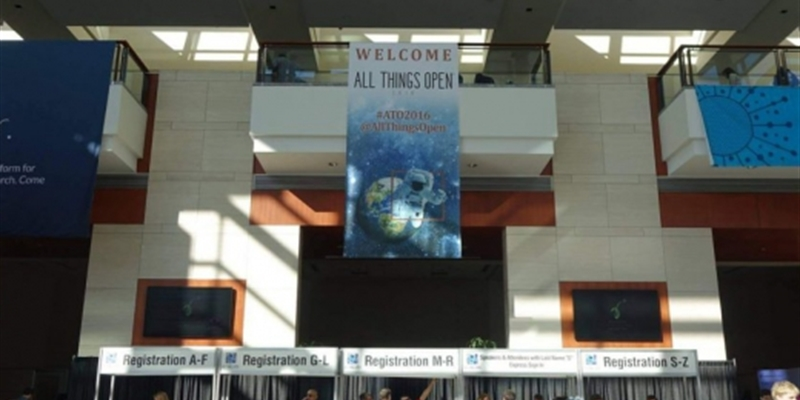 Message parsing and community building: All Things Open 2016