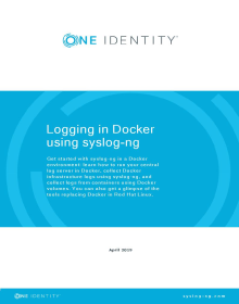 Logging in Docker using syslog-ng
