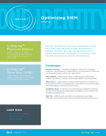 Use Case – Optimizing SIEM