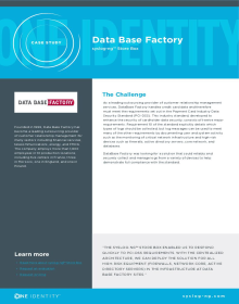 Database Factory syslog-ng Store Box case study