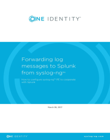 syslog-ng with Splunk use cases